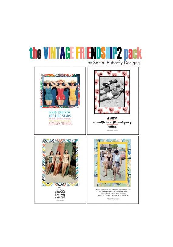 Friendship Cards Vintage Beach Images Friendship Quotes Cards Friendship  Quotes Vintage Friendship Cards Paper Goods Cards for Friends