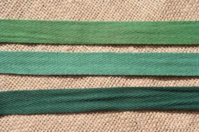 Twill Tape Vintage Cotton Trim Choose Your Color image 0