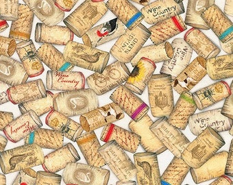 Wine by Mary Lake - Robert Kaufman Fabrics - Cotton Fabric