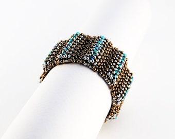 Beaded Jewellery - Lumpy Bracelet