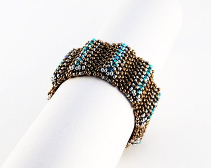Beaded Jewellery - Lumpy Bracelet