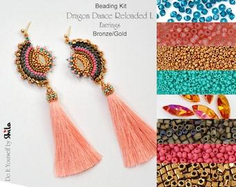Beading Kit of Dragon Dance Reloaded I. Earrings No. 63