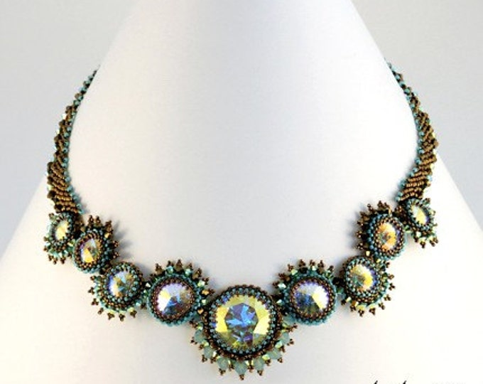 Beaded Jewellery - Turquoise Sea Necklace
