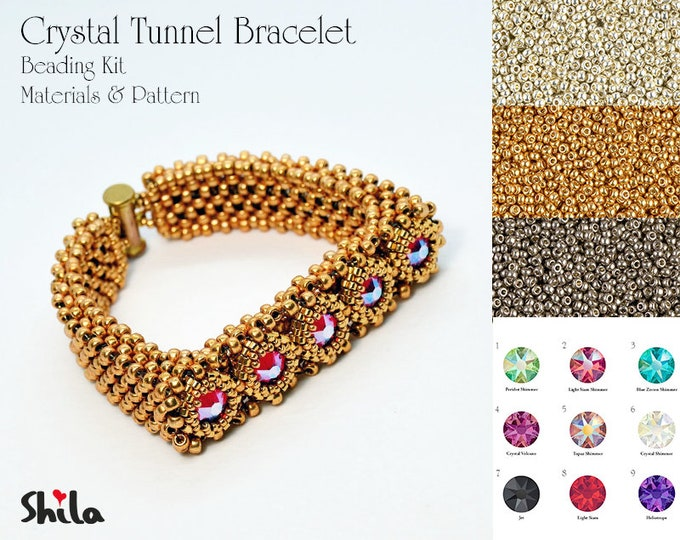 Crystal Tunnel beading Kit No. #53