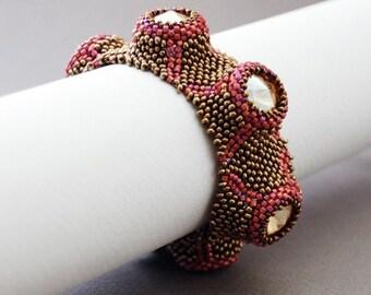 Beaded Jewellery - Volcanoes Bracelet