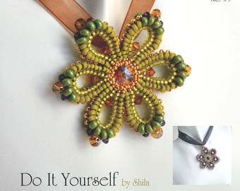 Step by step INSTANT download Pdf beading PATTERN #35