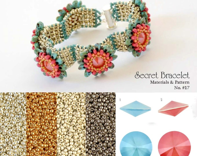Secret Bracelet Beading Kit No. #17