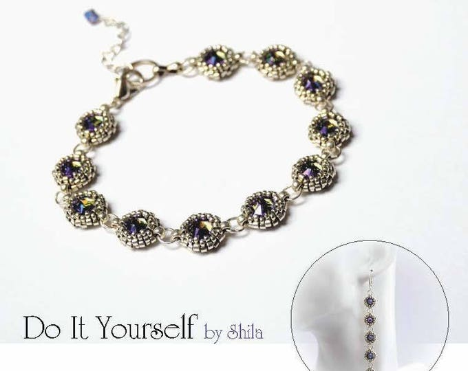 Bracelet Step by step INSTANT download Pdf beading PATTERN #42