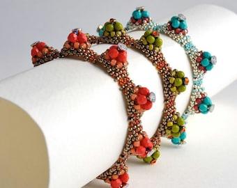 Hillock Bracelet/Green