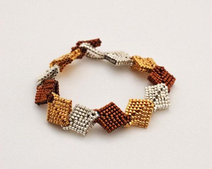 Beaded Jewellery - Fall Leaves