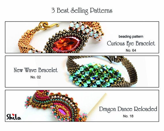 3 Best Selling Patterns by Shila