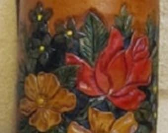 Bottle Holster - Wild Rose