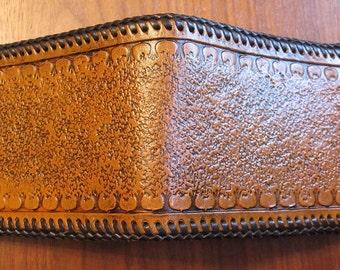 Bi-Fold Leather Wallet - Meander