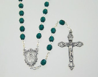May Birthstone Rosary