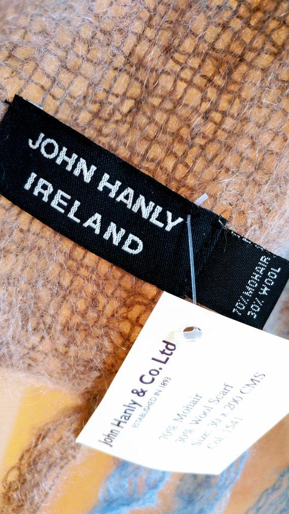 IRISH MOHAIR SCARF, Irish Wool, Irish Knit Scarf,… - image 6