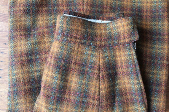 60s 70s Wool Maxi Skirt, Laura Ashley Style Skirt… - image 3