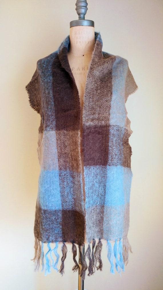 IRISH MOHAIR SCARF, Irish Wool, Irish Knit Scarf,… - image 2