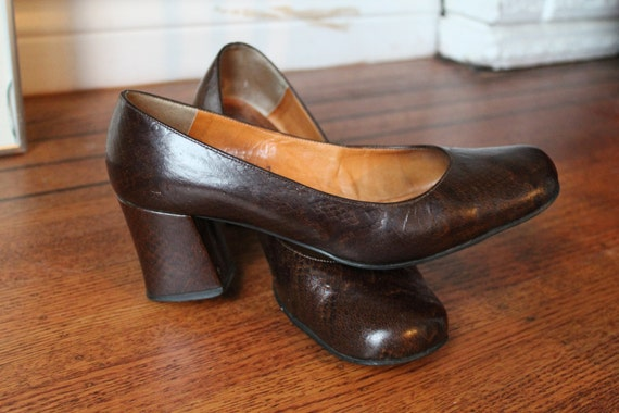 60s Mod Shoes / Finnish Shoes / Scandinavian Mod S