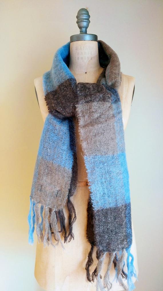 IRISH MOHAIR SCARF, Irish Wool, Irish Knit Scarf,… - image 5