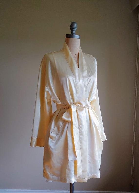 Victoria's Secret Robe Set / Cream Robe and Nightg