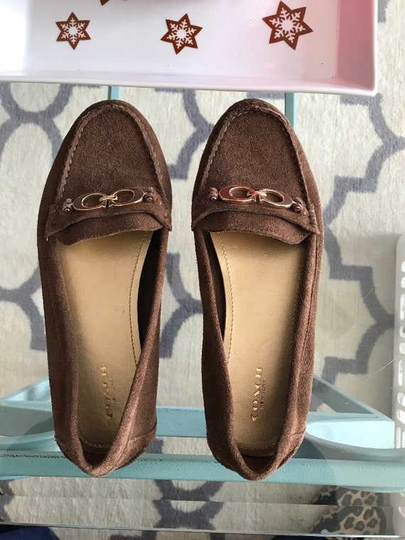 Coach Suede Loafers Coach Driving Shoes