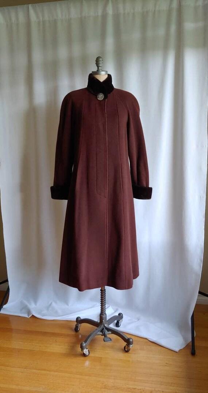 30s 40s wool midi Edwardian Victorian princess coa