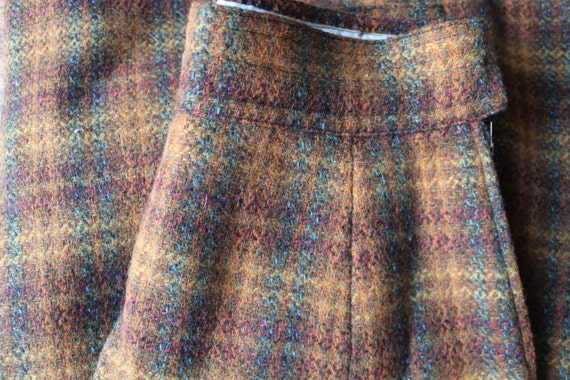 60s 70s Wool Maxi Skirt, Laura Ashley Style Skirt… - image 4