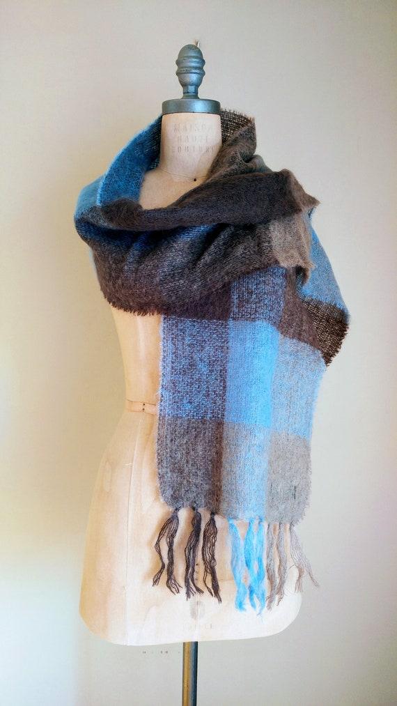 IRISH MOHAIR SCARF, Irish Wool, Irish Knit Scarf,… - image 3