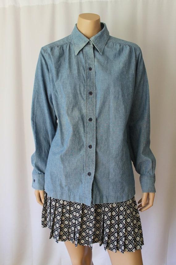 Orange Tab Levi's, 70s Chambray Shirt, Artist's Sm