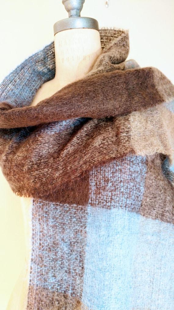 IRISH MOHAIR SCARF, Irish Wool, Irish Knit Scarf,… - image 4