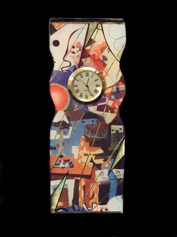 Picasso & Kandinsky Sculpture Clock