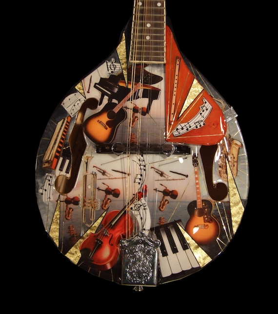 Bluegrass & Classical Symphony Inspired Mandolin