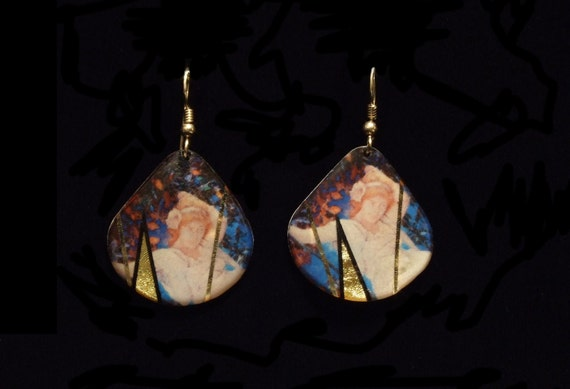 The Fate of Narcissus - Maxfield Parrish Earrings