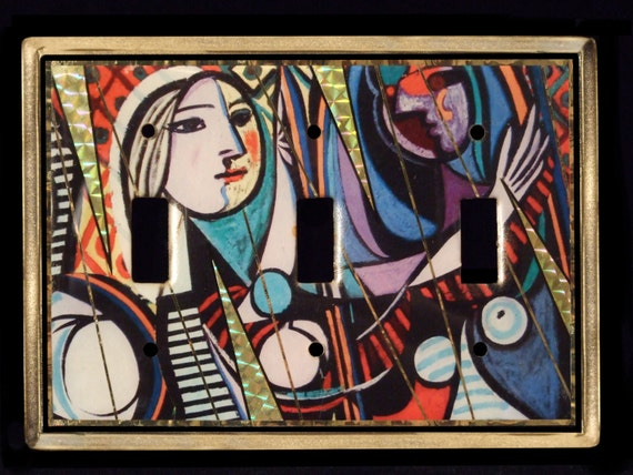 Picasso - Les Demoiselles switchplate