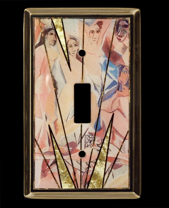 Demoiselle Picasso Switch Plate