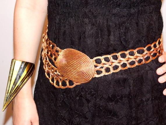 Hand Woven macrame Belt Stelios style