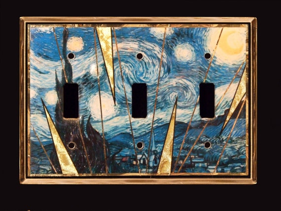 Starry Night Van Gogh Switchplate