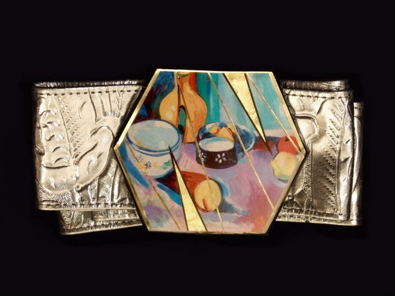 Matisse Still Life Belt Buckle