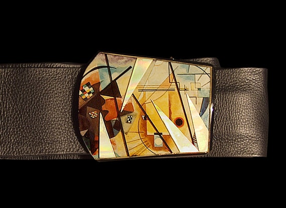 Kandinsky Belt Buckle