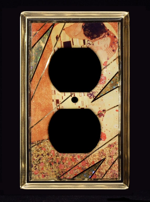 The Kiss Klimt Switchplate