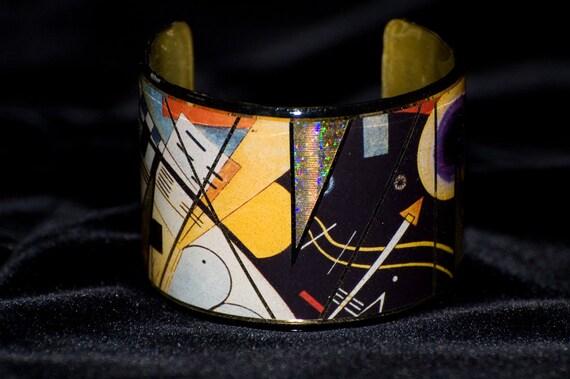 Kandinsky Cuff Bracelet
