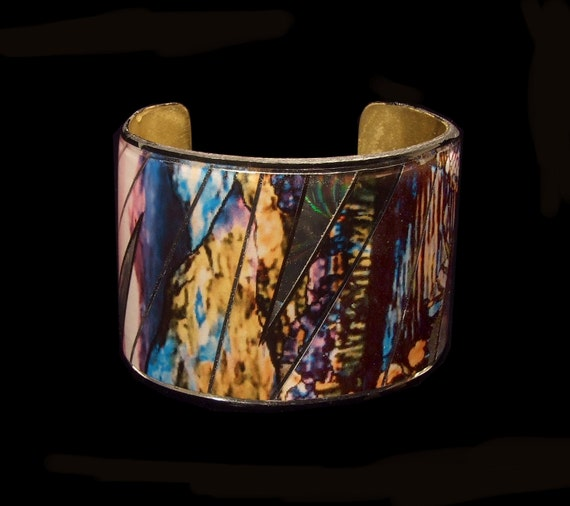 Impressionist Landscape Cuff by Monet