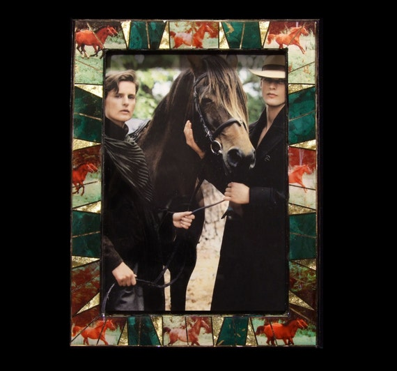Equestrian Horse Photo Frame