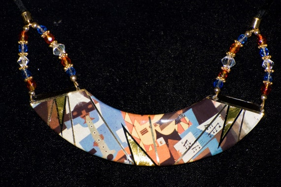 Picasso 3 Musicians Necklace