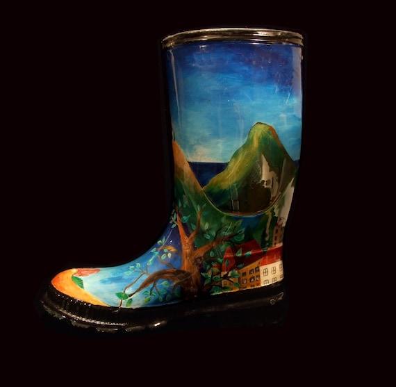 Grecian landscape island Boots