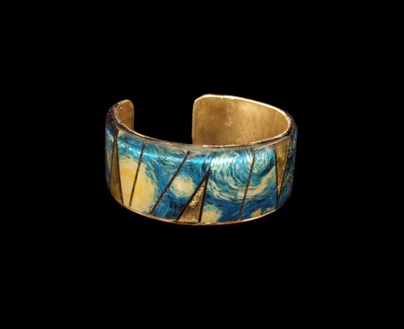 Starry Night - Van Gogh Small Cuff