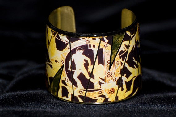 Greek Antiquities Medium Cuff Bracelet