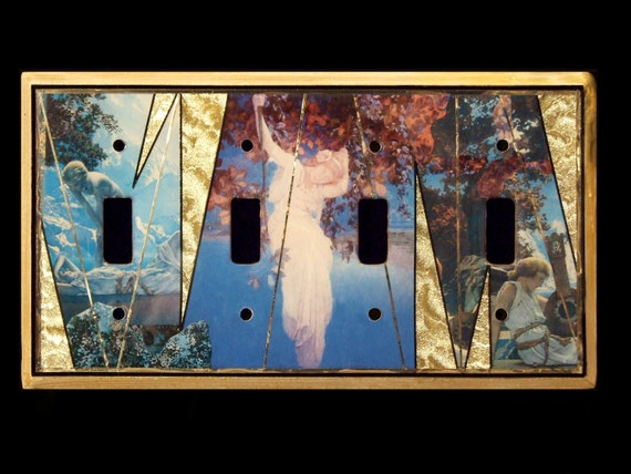 The Fate of Narcissus - Maxfield Parrish Switchplate