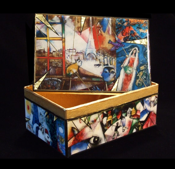 Folkloric Dreams- Marc Chagall Decorative Box