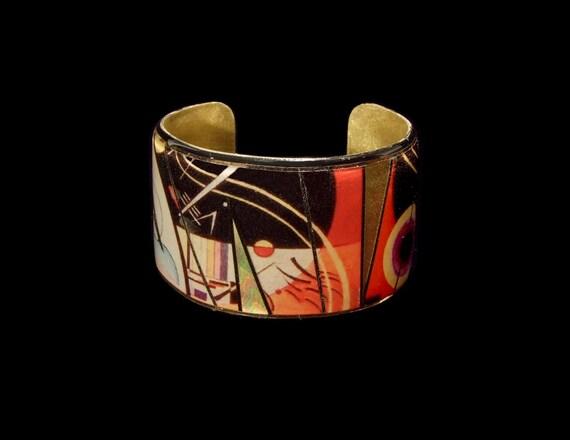 Kandinsky Abstract Cuff